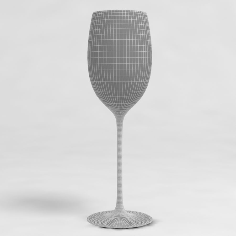 Wine Glass Collection royalty-free 3d model - Preview no. 20