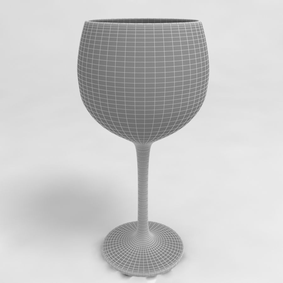 Wine Glass Collection royalty-free 3d model - Preview no. 33