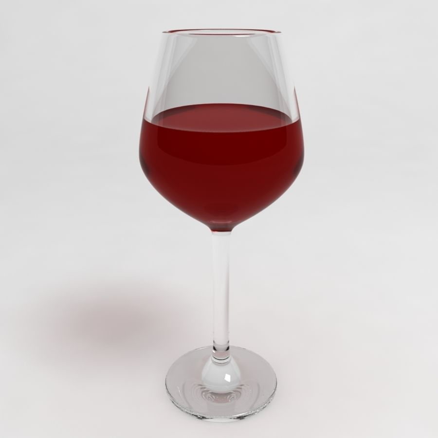 Wine Glass Collection royalty-free 3d model - Preview no. 6