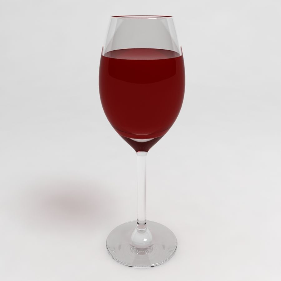 Wine Glass Collection royalty-free 3d model - Preview no. 12