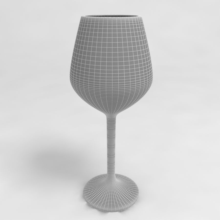 Wine Glass Collection royalty-free 3d model - Preview no. 24