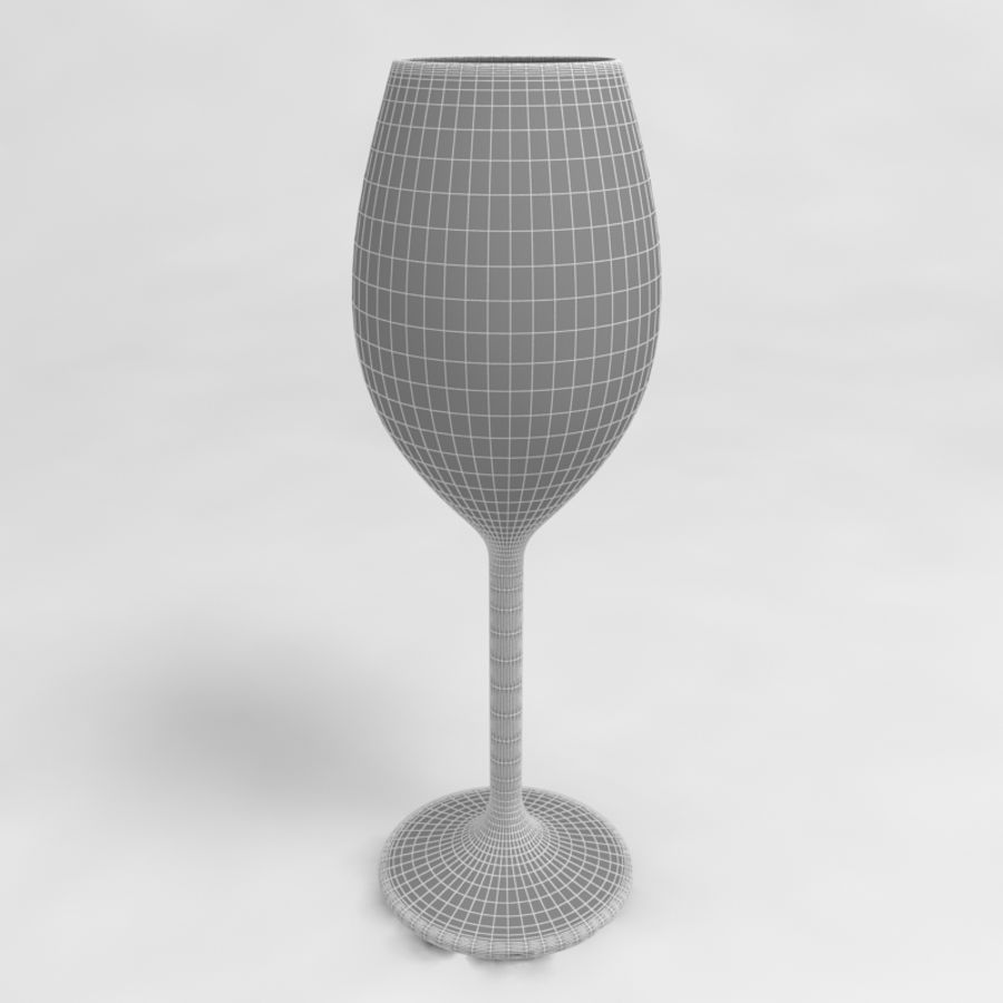 Wine Glass Collection royalty-free 3d model - Preview no. 30