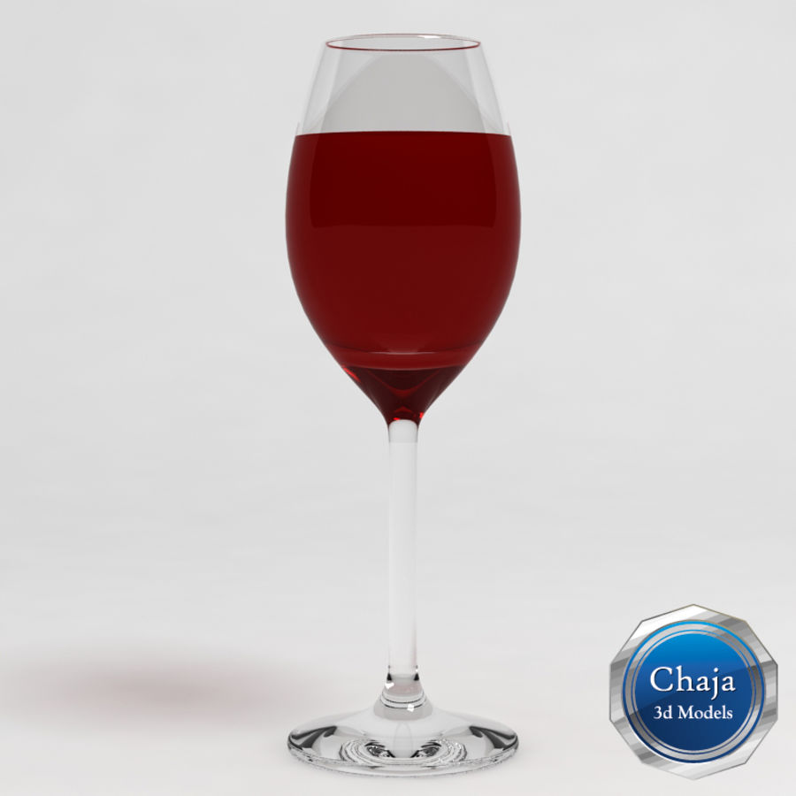 Wine Glass Collection royalty-free 3d model - Preview no. 11