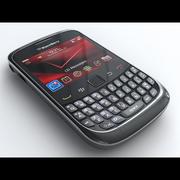 BlackBerry Curve 3G 9330 3d model