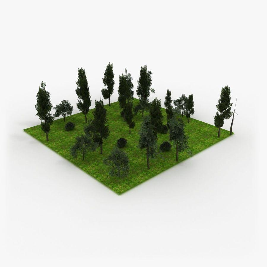 フォレストタイル royalty-free 3d model - Preview no. 1