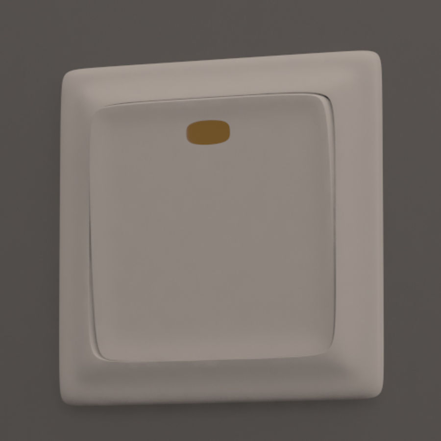 Wspólne włączniki światła royalty-free 3d model - Preview no. 2