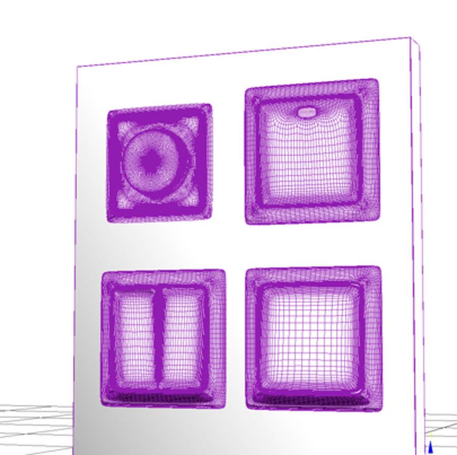 Wspólne włączniki światła royalty-free 3d model - Preview no. 6