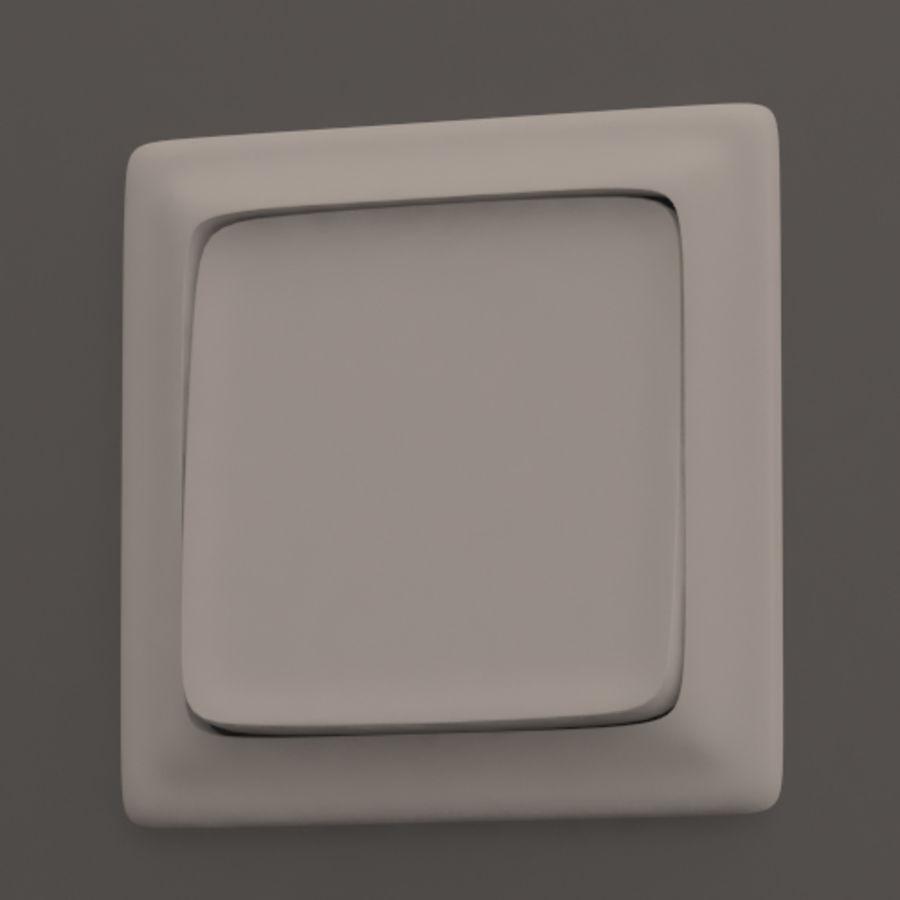 Wspólne włączniki światła royalty-free 3d model - Preview no. 4