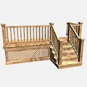 Back Side Deck 3d model