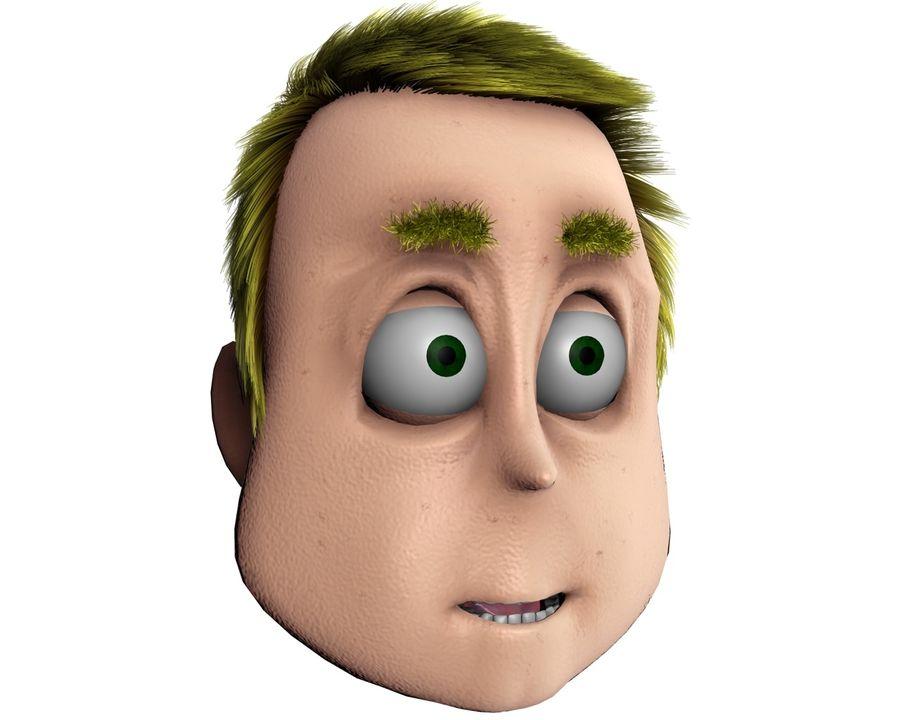 Cartoon Character Head- Duke 3D Model $5 -  unknown  obj  fbx  3ds
