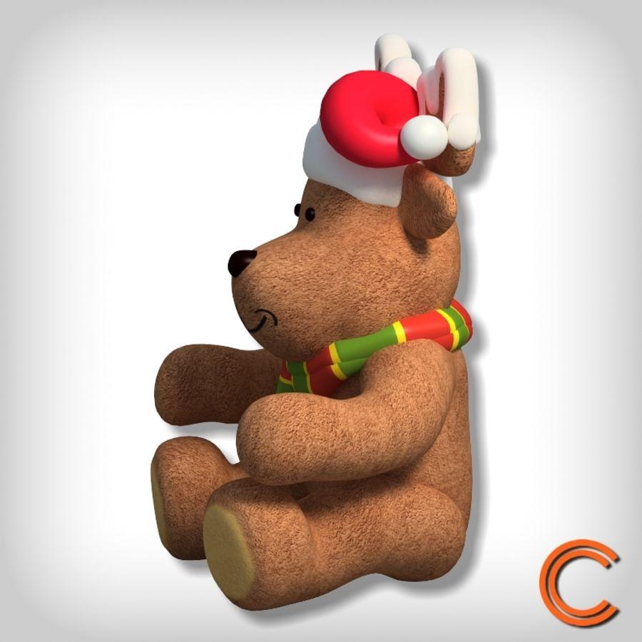 jouet de cerf de Noël royalty-free 3d model - Preview no. 2