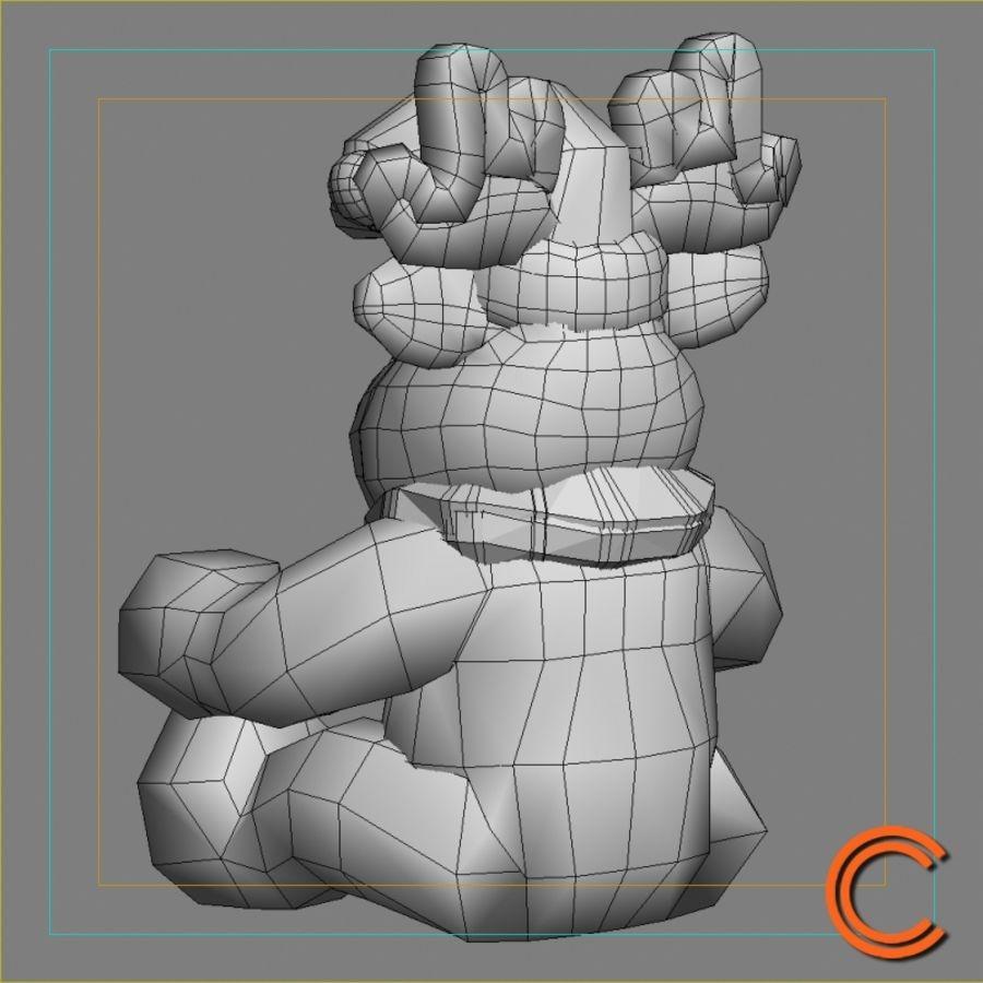 jouet de cerf de Noël royalty-free 3d model - Preview no. 5