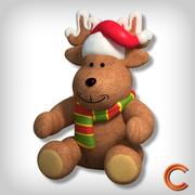 xmas Deer toy 3d model
