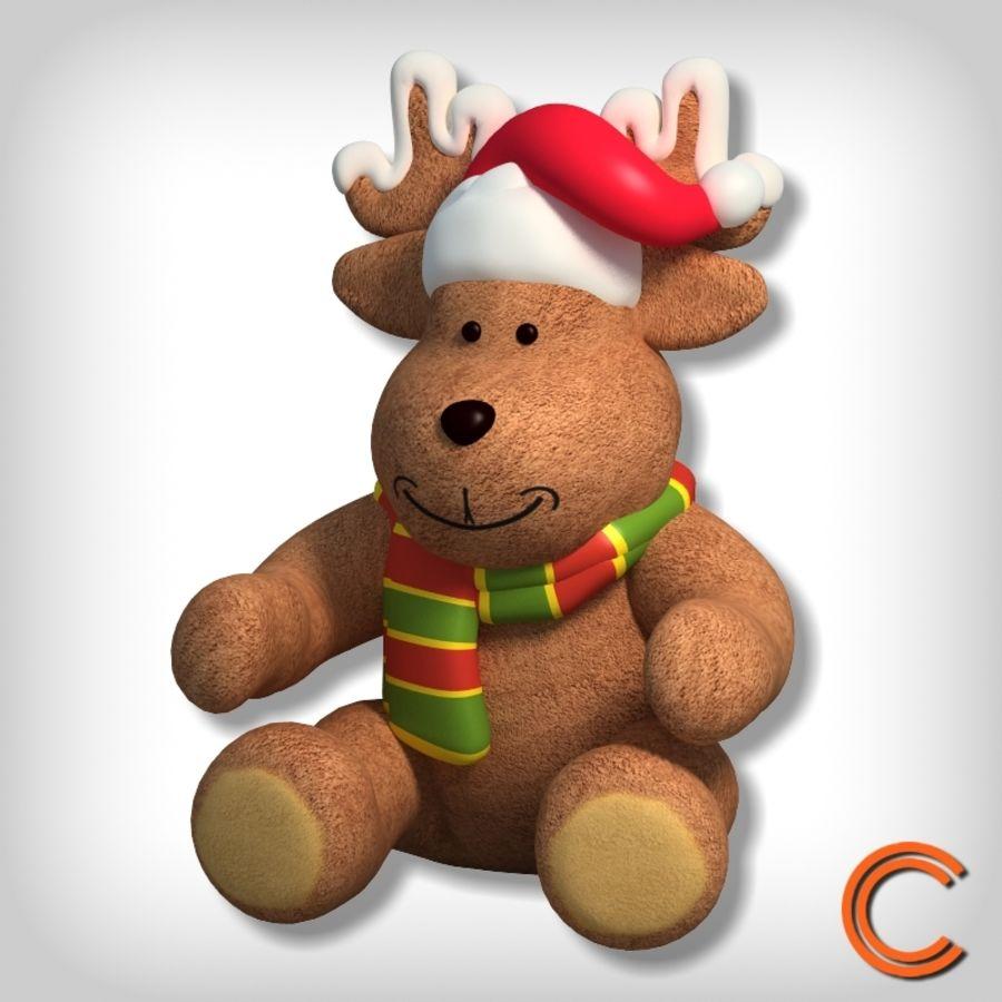 jouet de cerf de Noël royalty-free 3d model - Preview no. 1