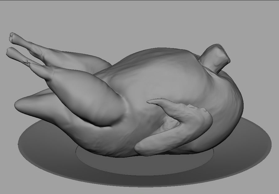 turkey royalty-free 3d model - Preview no. 2