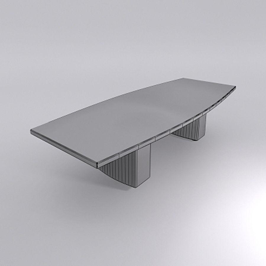 TABELA DE CONFERÊNCIAS E CADEIRAS - Mental Ray Materials royalty-free 3d model - Preview no. 4