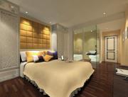 ggs-guest room_015 3d model