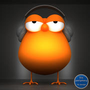 Dj Chick Character 3d model