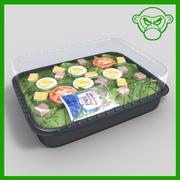 la salade du chef 3d model