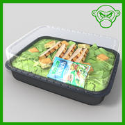 chicken salad 3d model