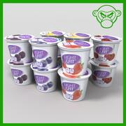 Yogurt 3d model