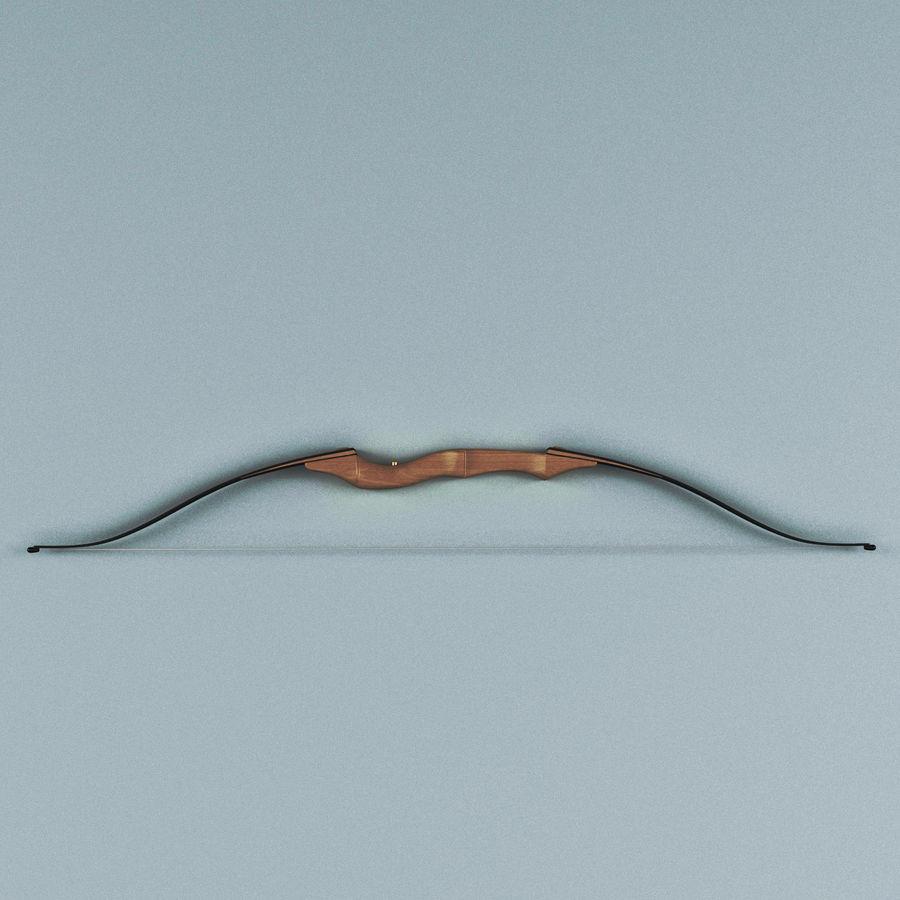 Arco Recurvo Impala royalty-free 3d model - Preview no. 2