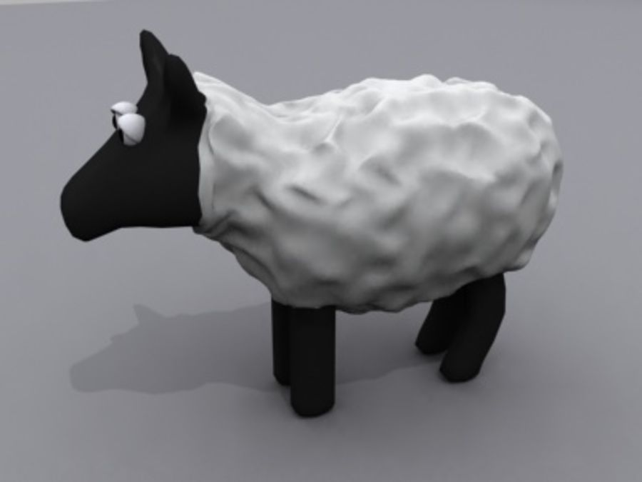 animals sheep royalty-free 3d model - Preview no. 1