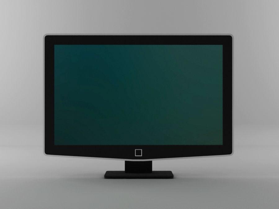 TV moderna royalty-free modelo 3d - Preview no. 4