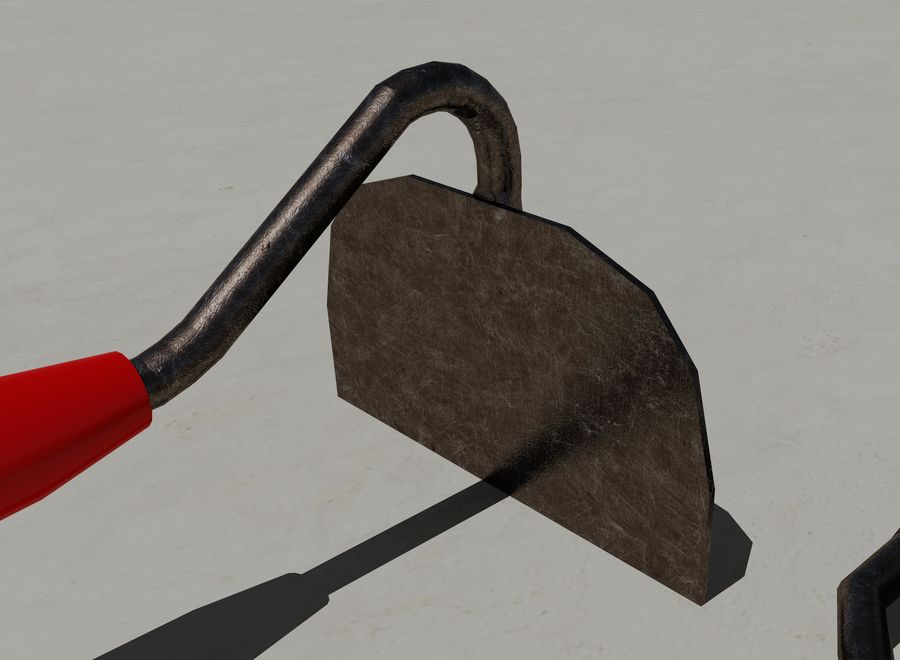 Garden Tools royalty-free 3d model - Preview no. 9