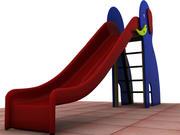 Elephant Slide 3d model