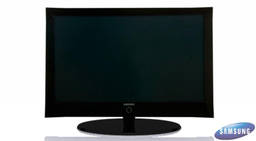 Smasung Plasma TV royalty-free 3d model - Preview no. 1