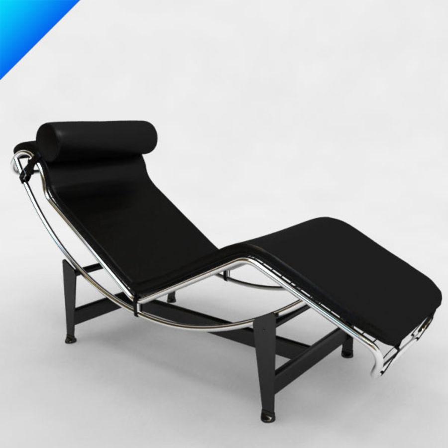 Le corbusier LC4 chaise Modello 3D $25 - .max .obj .ma .fbx ...