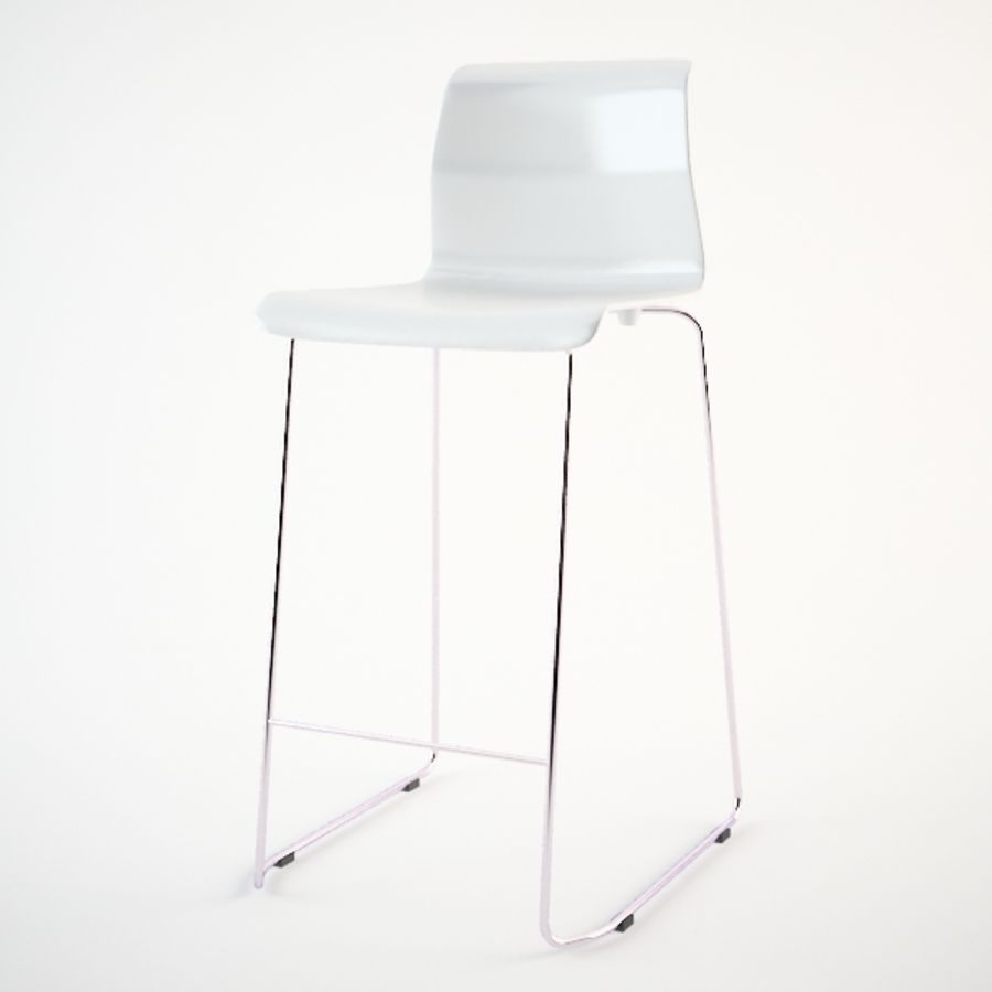 Swell Ikea Glenn Bar Stool 3D Model 15 Unknown Max Fbx 3Ds Gmtry Best Dining Table And Chair Ideas Images Gmtryco