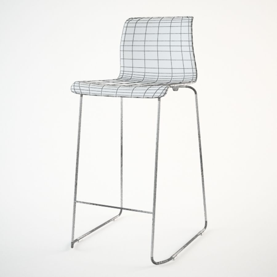 Brilliant Ikea Glenn Bar Stool 3D Model 15 Unknown Max Fbx 3Ds Gmtry Best Dining Table And Chair Ideas Images Gmtryco