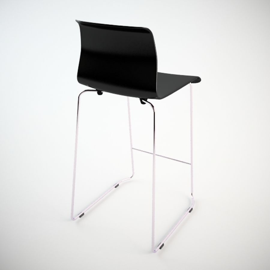 Fantastic Ikea Glenn Bar Stool 3D Model 15 Unknown Max Fbx 3Ds Gmtry Best Dining Table And Chair Ideas Images Gmtryco