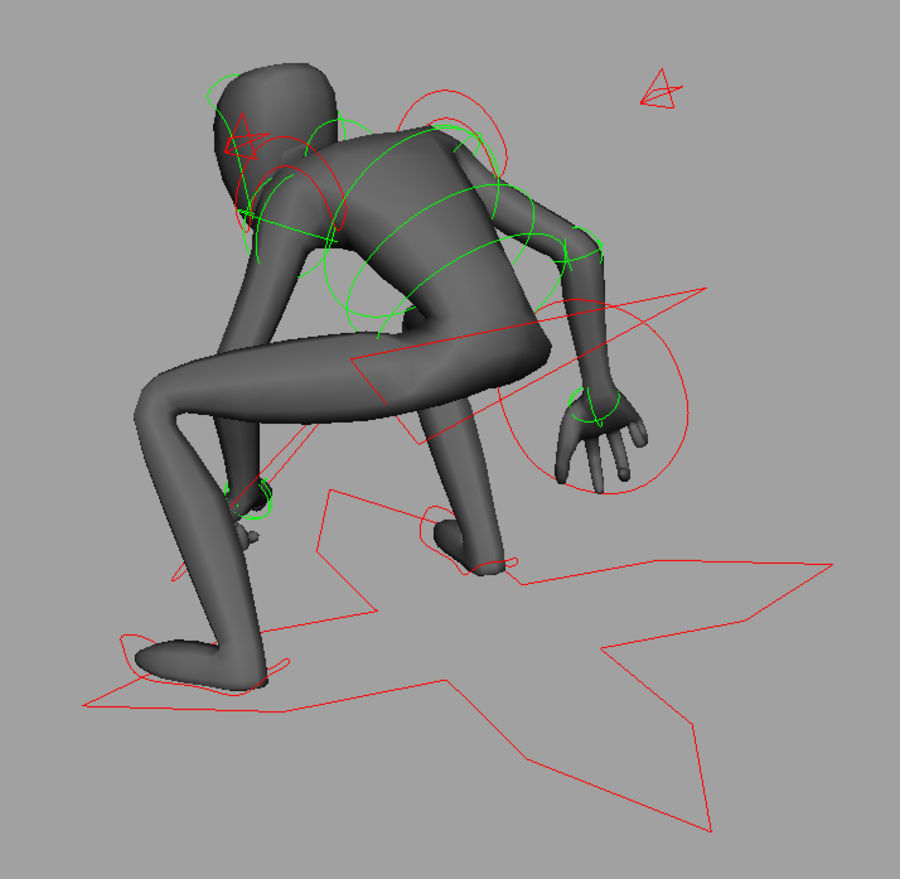 rig royalty-free 3d model - Preview no. 3