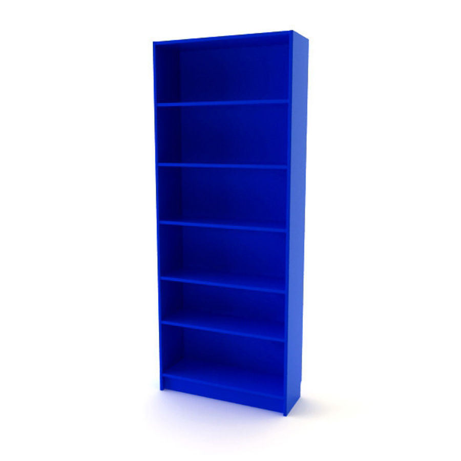 Libreria ikea billy modello 3d 2 obj max fbx 3ds for Mobili ikea 3d