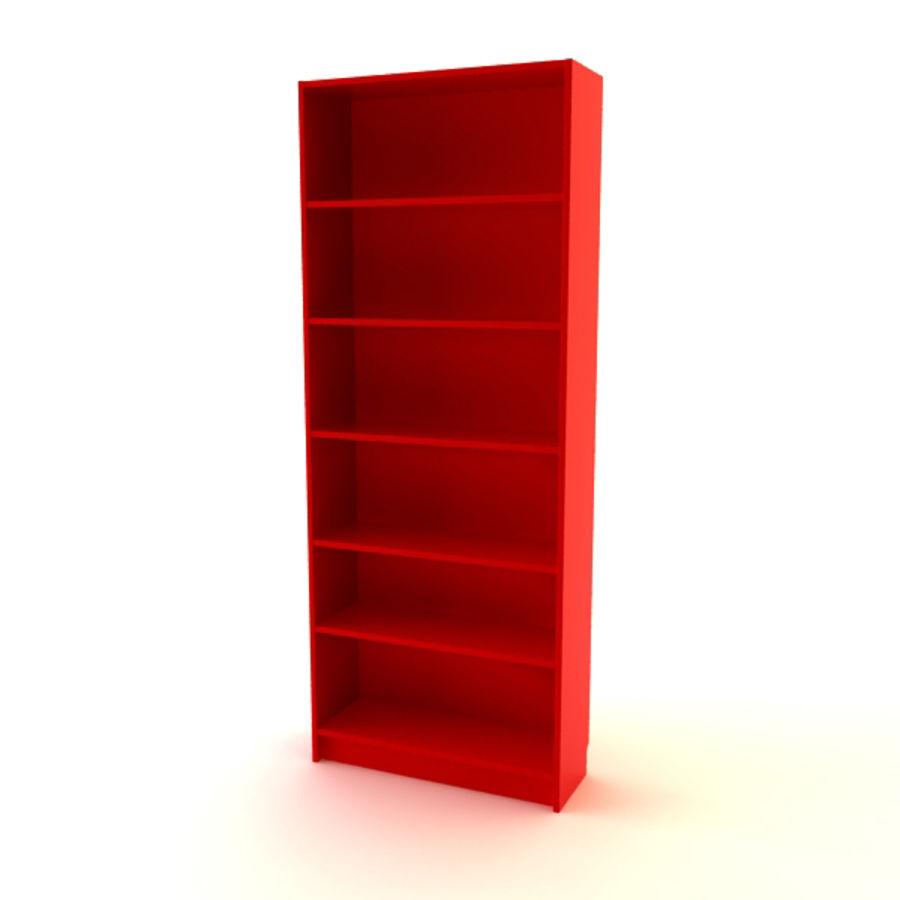 Bibliothèque Modèle 3d2objmaxfbx3ds Free3d Billy Ikea rhdtsCQ