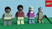 LEGO Lost Minifigure Pack 5 3d model
