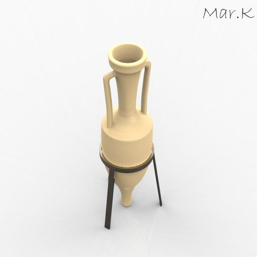 Amphora royalty-free 3d model - Preview no. 2