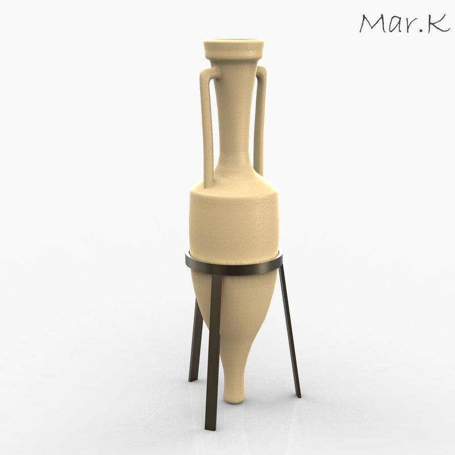 Amphora royalty-free 3d model - Preview no. 1