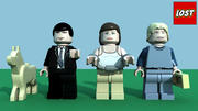 LEGO Lost Minifigure Pack 1 3d model