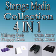 4in1_Storage_Media_Collection 3d model