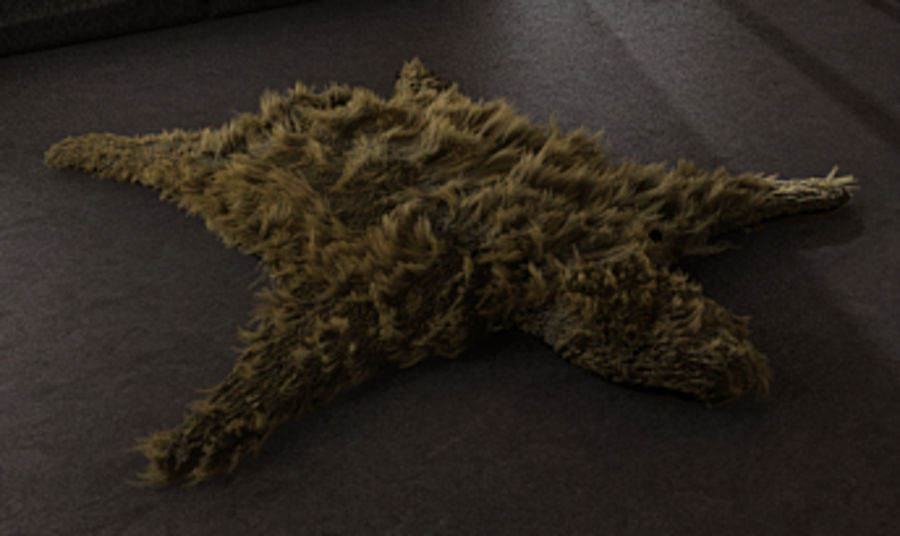Bearskin royalty-free 3d model - Preview no. 1