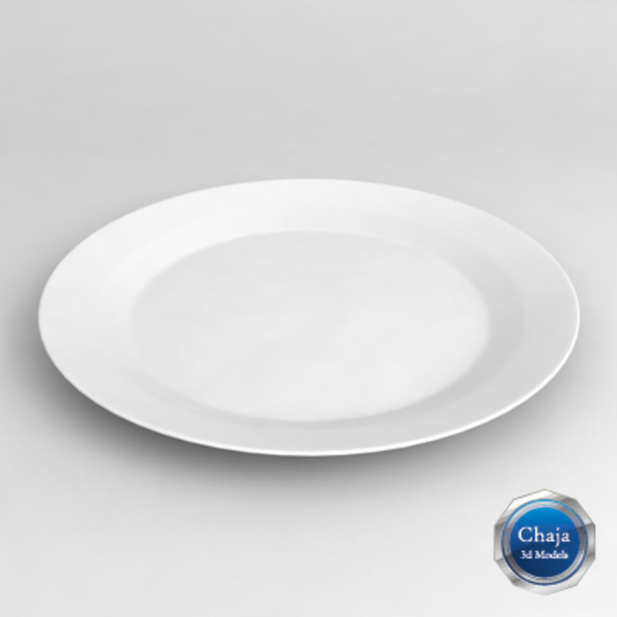 Dish_01 royalty-free 3d model - Preview no. 1