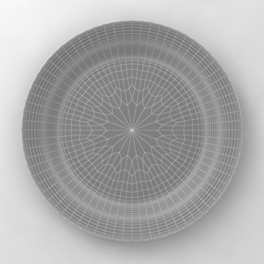 Dish_01 royalty-free 3d model - Preview no. 6