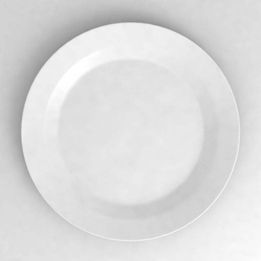 Dish_01 royalty-free 3d model - Preview no. 3