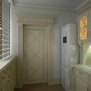 Classic_kitchen 3d model