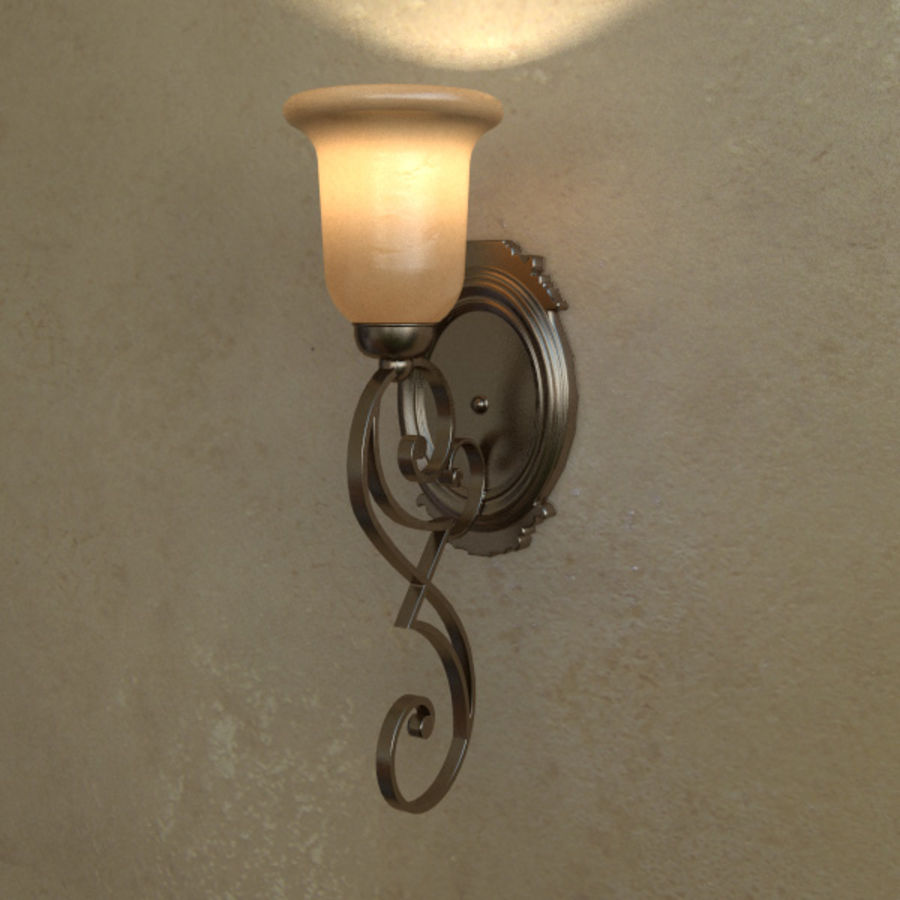 Concor 356 Sconce Light royalty-free 3d model - Preview no. 1