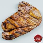 Steak grillen 3d model